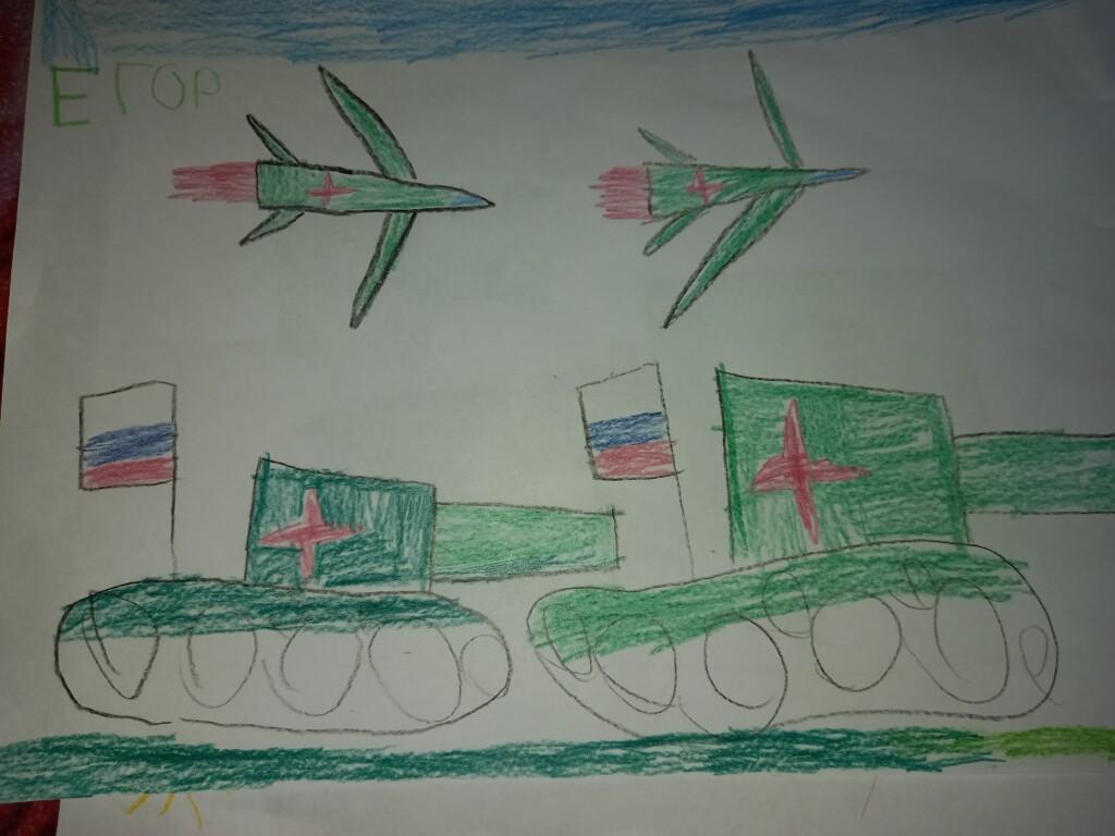 Рисунки детей посвященные 9 мая